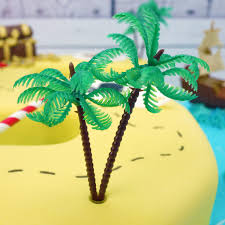 Tree Decorations For Cakes Plastic Palm Tree Cake Decoration