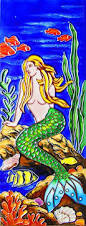 90 best mermaid art tiles u0026 trivets images on pinterest art