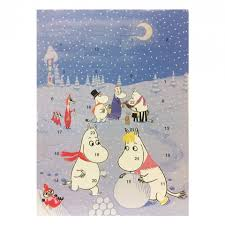 moomin calendars for christmas and for year 2016 moomin