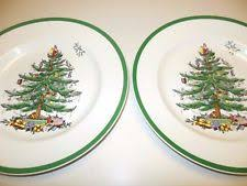 spode tree 10 3 4 dinner plates s3324 v w ebay