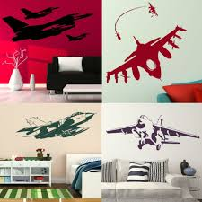 online get cheap army wall decals for kids rooms aliexpress com e348 4 wall stickers home decor diy poster decals for kids room aeroplane mural air