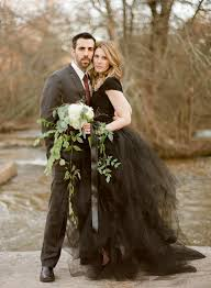 black wedding black wedding dress inspiration weddbook