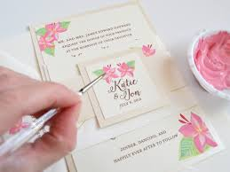 Personalized Wedding Invitations Hand Painted Wedding Invitations Archives Watercolor Wedding