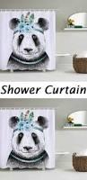 vintage elephant waterproof shower curtain decorative items
