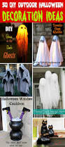 witch boot halloween decorations 50 easy diy outdoor halloween decoration ideas for 2017