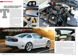 mustangs fast fords featured in august 2015 issue of mustangs fast fords