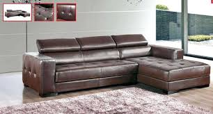 Small Leather Sofa With Chaise Beautiful Small Leather Sofa Chaise Espresso Sectional Left Facing