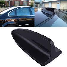 amazon com hde universal decorative shark fin car antenna black