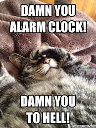 Alarm Clock Meme - you alarm clock