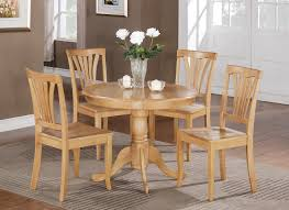 Small Table And Chairs For Kitchen 5pc Small Kitchen Dining Set In Oak Finish Http Stores Ebay Com
