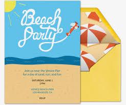 free birthday milestone invitations evite com free online beach party invitations evite