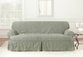 sure fit matelasse damask one piece t cushion