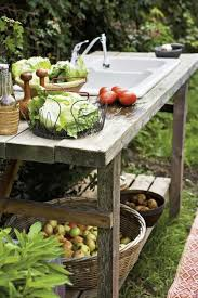 Garden Sink Ideas Outdoor Garden Sink And Workspace Glam Shabby Chic Boho