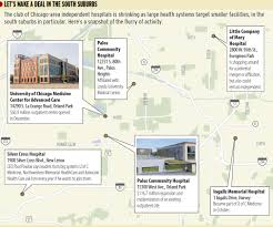 University Of Illinois At Chicago Map by Chicago Hospital Acquisitions Heat Up In South Suburbs In Other