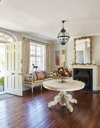 Entrance Hall Table by Step Inside This Elegant Hampshire Country Home The Room Edit
