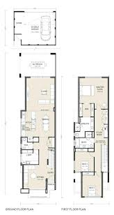 Narrow House Plans With Garage Narrow Lot Apartments 3 Bedroom Story 2 Bathroom 1 Dining A Tiny