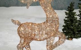 lawn reindeer with lights lawn reindeer with lights christmas lights home design and