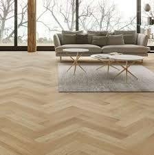Oak Matt Lacquer Herringbone Engineered Parquet - Herringbone engineered wood flooring