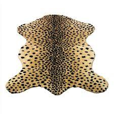 Fake Lion Skin Rug With Head Faux Animal Skin Rugs Ebay