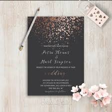 black and gold wedding invitations best 25 black wedding invitations ideas on black