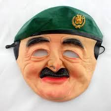 saddam hussein mask latex horror halloween costume carnival