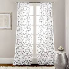 light grey sheer curtains grey sheer curtains for less overstock com