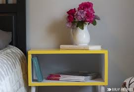 Pink Accent Table Diy Target Knockoff Side Table