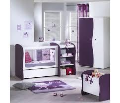 sauthon chambre bebe complet 120x60 transformable 90x190 bureau pop violette