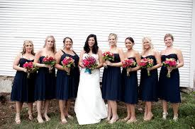 navy bridesmaid dresses 2017 wedding ideas magazine weddings