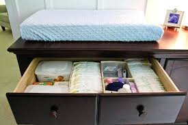 Changing Table Organization Organized Dresser Drawers How To Organize Your Zdravgorod Site