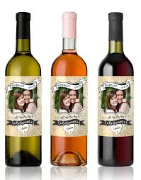 will you be my bridesmaid wine labels will you be my bridesmaid wine bottle label with photo milabel