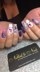 Best Stick On Nails 31 Best Nathali3s Nails Images On Pinterest Swarovski Hair And