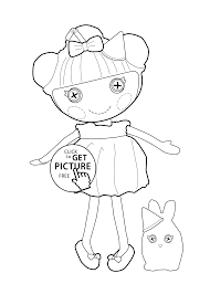 doll coloring page doll coloring page best photos of jigsaw