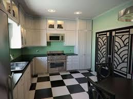 art deco kitchens art deco kitchen with white cabinets creating the elegant art