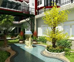 beauti minimalist garden in front your home remodeling