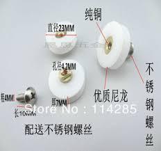Replacement Shower Door Runners Buy 12pcs Replacement Shower Door Roller Runner Wheel 22 5mm