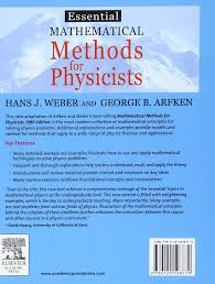 buy essential mathematical methods for physicists ise book online