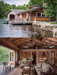 144 best lakeside cabins images on pinterest small houses