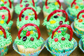 cool easter baskets easter basket cupcakes