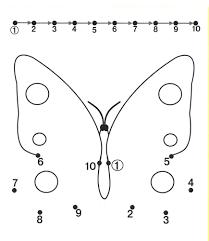 6 best images of kindergarten activity butterfly handwriting