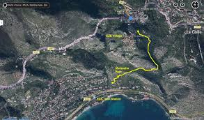 Monaco France Map by The Hiking Photographer Guide To The Nietzsche Path U0026 Eze Village