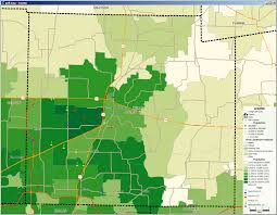 Map Of Area Codes Assessing A Potential New Market How To Use Mappoint And Maptitude