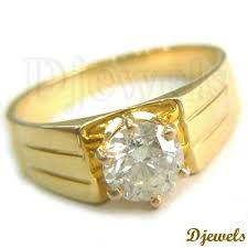 gents ring finger solitaire diamond rings solitaire gents rings diamond jewelry