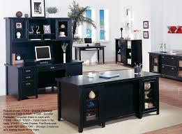 Executive Desk Office Furniture Loft Black Office Furniture Pedestal Executive Desk