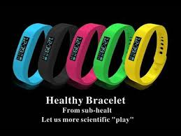 bracelet healthy images Healthy bracelet silicone smart sport wristband jpg