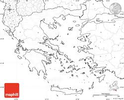 blank map of ancient greece blank simple map of greece no labels