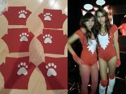 fox costume diy makeup images
