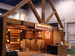 portable trade show displays easy booth design with faux wood