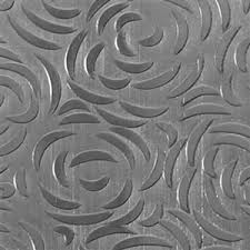 sterling silver textured metal bed of roses pattern cool tools