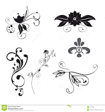 floral ornaments stock image image 8154161